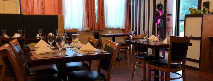 Takhrai Thai Resturant is one of Locais curtidos por Aaron.
