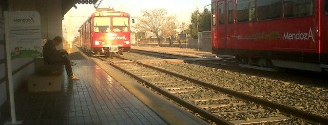 Estación Gutiérrez [Metrotranvía] is one of Cuyo (AR).