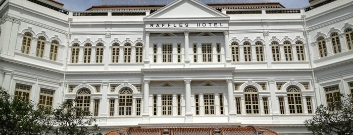 Raffles Hotel is one of #myhints4Singapore.