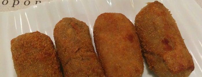 La Croquetta is one of Madrid - Restaurantes.