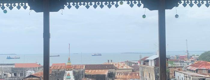 Emerson on Hurumzi is one of Zanzibar.