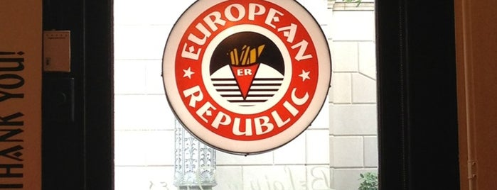 European Republic is one of Anthony'un Kaydettiği Mekanlar.