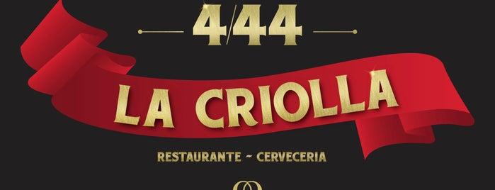La Criolla 4/44 is one of Lugares favoritos de Leonardo.