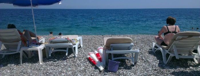The Antalya Beach is one of Antalya.