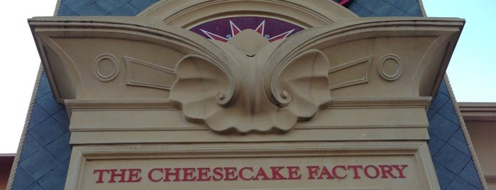 The Cheesecake Factory is one of foodie.