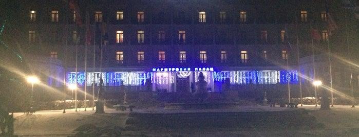 Санаторій «Мармуровий палац» is one of Orte, die Tatyana gefallen.