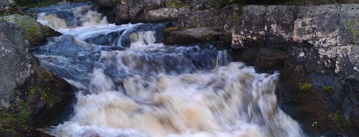 Водопад is one of ⛰ сердоболь.