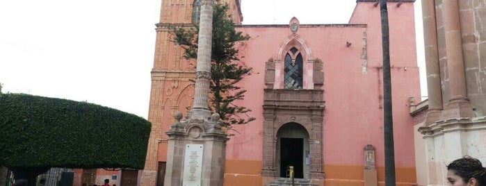 Iglesia de San Rafael is one of San Miguel de Allende.