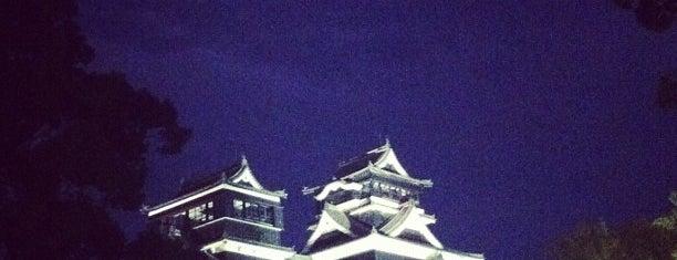 熊本城 is one of 日本夜景遺産.