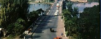 Понтонный пешеходный мост is one of СтареENький Город.