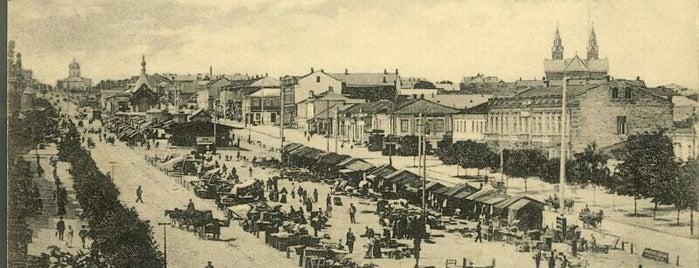 Центральний проспект is one of СтареENький Город.