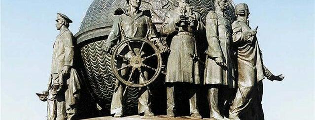 Памятник корабелам и флотоводцам is one of СтареENький Город.