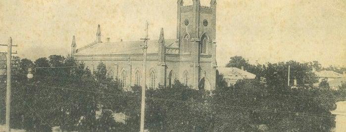 Лютеранская Кирха (Евангелическо-лютеранская церковь Христа-Спасителя) is one of СтареENький Город.