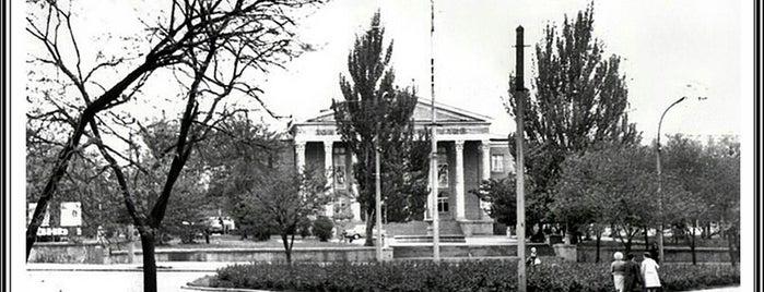 ДК Строителей is one of СтареENький Город.