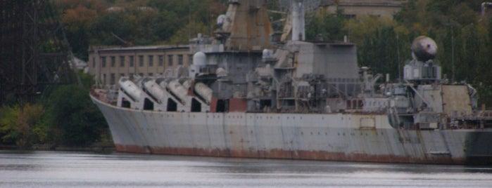 Ракетный крейсер «Украина» is one of СтареENький Город.