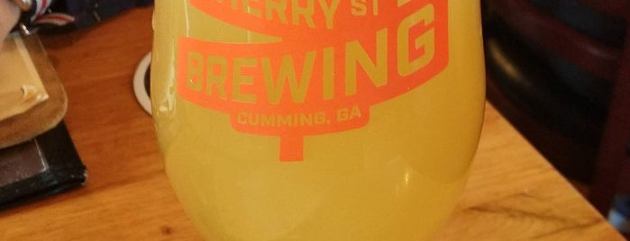 Cherry Street Taproom is one of Ga Local Breweries.