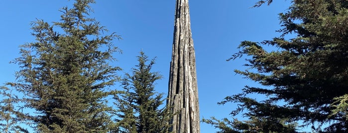 Goldsworthy Spire is one of San Francisco.