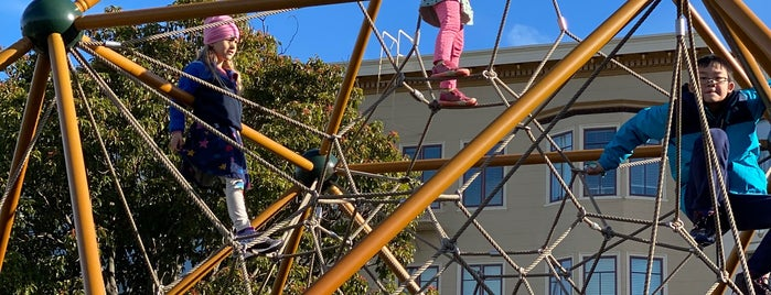 Moscone Park Playground is one of Posti salvati di Reinaldo.