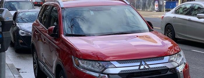 Avis Car Rental is one of SFO.