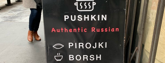 Pushkin is one of San Francisco.