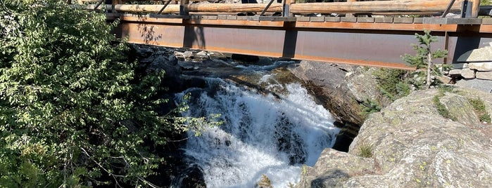 Hidden Falls is one of Jackson Hole.