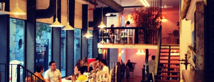 La Rollerie is one of Madrid Kafe.