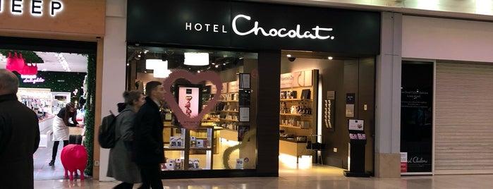 Hotel Chocolat is one of Lieux qui ont plu à Matthew.