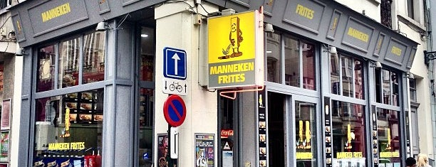 Manneken Frites is one of El Tiño's Liked Places.