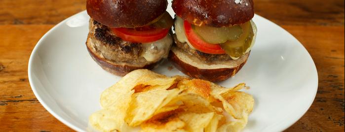 Sigmund Pretzel Shop is one of Choice Eats 2015 Restaurants.