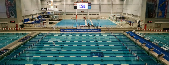 Jamail Texas Swimming Center (TSC) is one of Amyさんのお気に入りスポット.