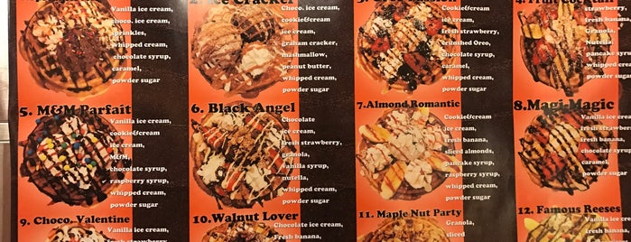 Waffle Magic is one of LI Places Bucket List:.