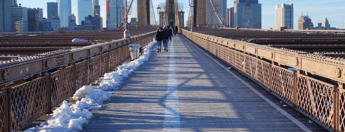 Brooklyn Bridge is one of NYC.