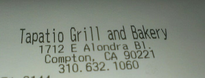 Tapatio Grill and Bakery is one of Posti che sono piaciuti a Josie.