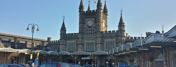 Temple Meads is one of Martin's Liked Places.