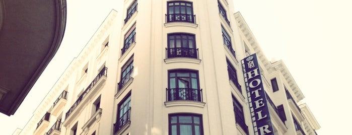Hotel Regente Madrid is one of สถานที่ที่ Miguel ถูกใจ.