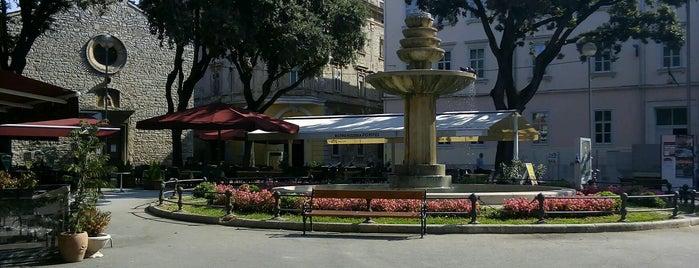 Danteov Trg is one of Istria, Croatia.