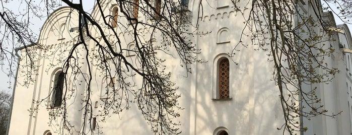 Борисоглібський собор is one of Чернигов.