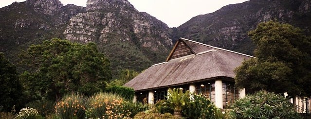 Kirstenbosch Botanical Gardens is one of SA.