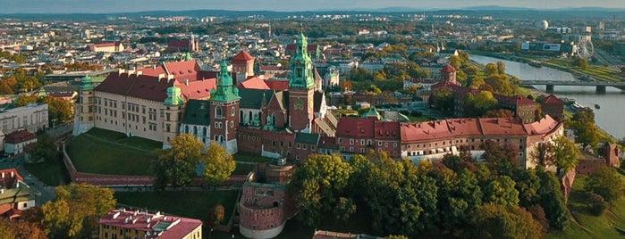 Stare Miasto is one of Krakow.