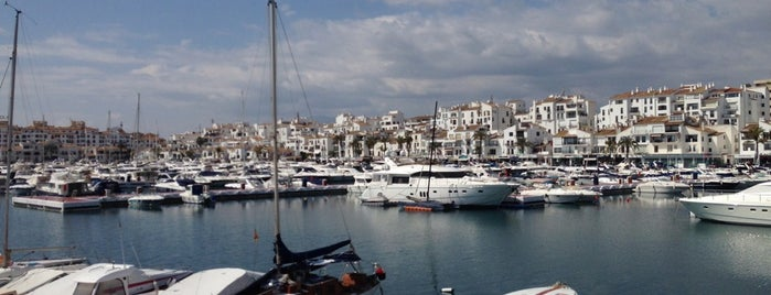 Puerto Banús is one of Malaga, Spain.
