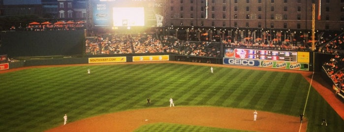 Oriole Park at Camden Yards is one of Stadium Tour.