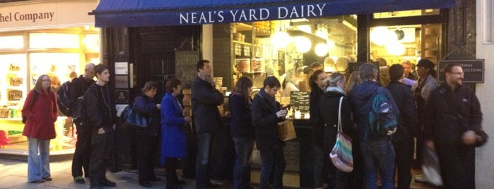 Neal's Yard Dairy is one of Time Out London.