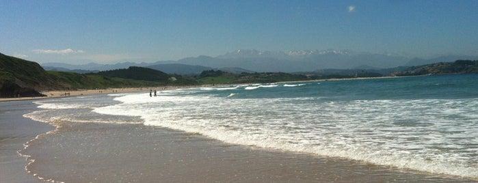 Playa de El Cabo / Guerra is one of Playas de España: Cantabria.