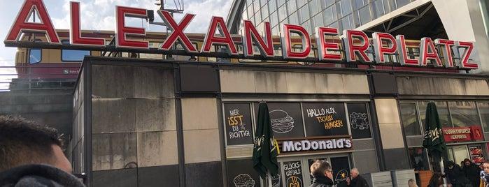 McDonald's is one of Berlin.