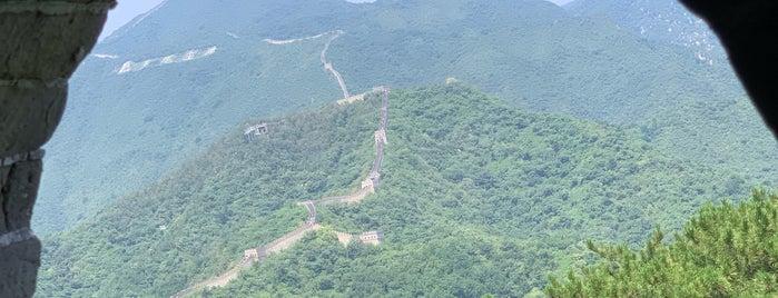 塔一 Tower Guard House Tower, 慕田峪长城 Great Wall at Mutianyu is one of Locais curtidos por Jesse.