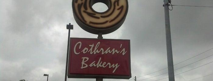 Cothran's Bakery is one of Dylan : понравившиеся места.