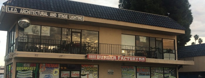 Burger Factory is one of Stuff and Things - The Edible L.A. Edition.