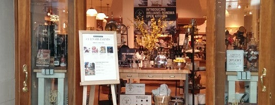 Williams-Sonoma is one of Favorite Places to visit!.