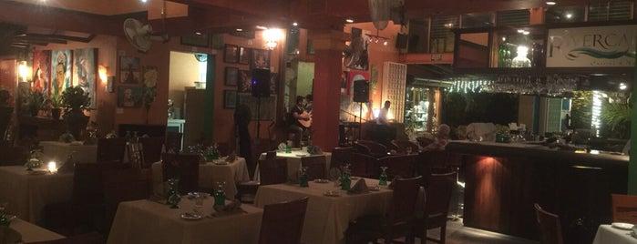 The River Cafe is one of pOps'un Beğendiği Mekanlar.