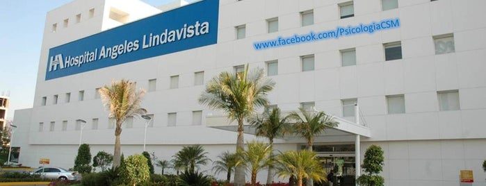 Psicólogo D.F. Hospital Angeles Lindavista